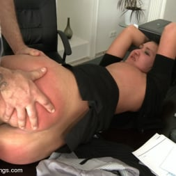 Rokki in 'Kink' Secretary Take Down:Boss and Friends Tie her up and Fill her Pussy (Thumbnail 18)