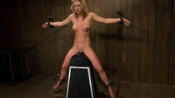 Mason in 'Former college track star bound on sybian made to cum.'