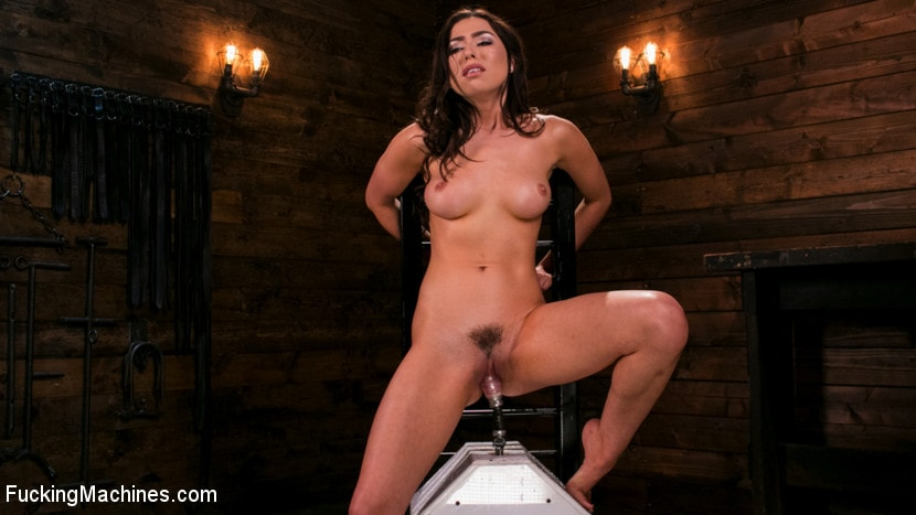 Kink 'All Natural New Girl Squirts Everywhere From Machine Fucking' starring Melissa Moore (Photo 5)