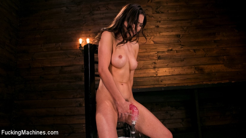 Kink 'All Natural New Girl Squirts Everywhere From Machine Fucking' starring Melissa Moore (Photo 14)