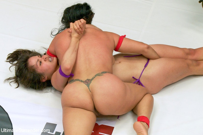 Kink 'Exotic Wrestlers impose their will on each other. Aggressive wrestling' starring Milcah Halili (photo 13)