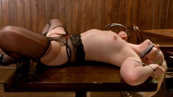 Miley May in 'The Dark Corner Saloon: Miley May Taken, Tied Up, and Tormented'