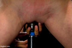 Missy Minks - Super cute next door gets bound by perverted couple Stripped, flogged, fingered and made to cum! (Thumb 16)