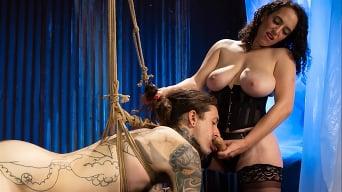 Mistress Blunt in 'Snared 2: Mistress Blunt owns Ruckus' Ass!'