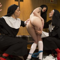 Mona Wales in 'Kink' Anal Initiation: Aspiring Nun Gets Beaten and Fucked! (Thumbnail 2)