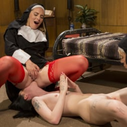 Mona Wales in 'Kink' Anal Initiation: Aspiring Nun Gets Beaten and Fucked! (Thumbnail 6)