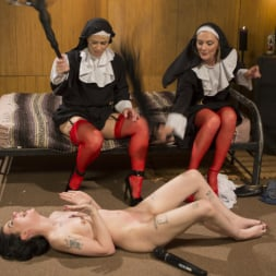 Mona Wales in 'Kink' Anal Initiation: Aspiring Nun Gets Beaten and Fucked! (Thumbnail 24)
