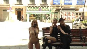 Mona Wales in 'Fully Nude Bondage Slut Services Public Disgrace'