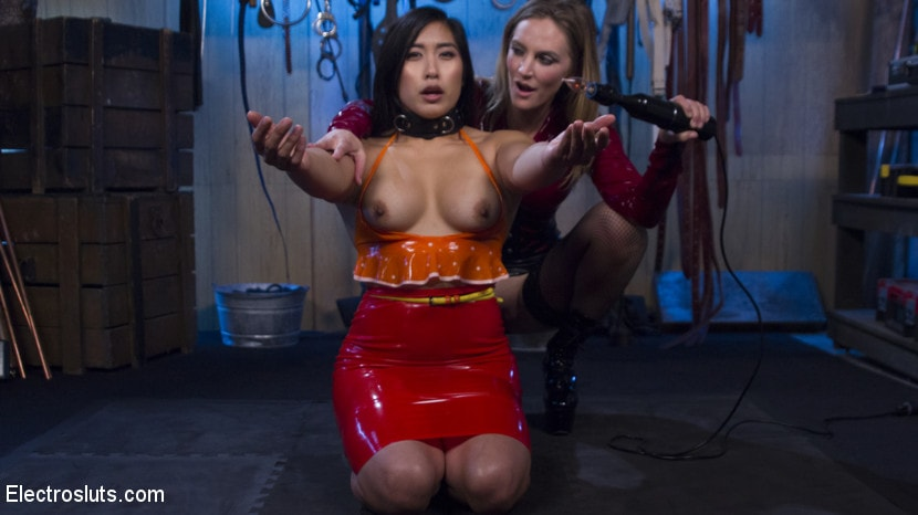 Kink 'Breaks in Electro-Pet Mia Li' starring Mona Wales (Photo 15)