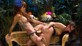 Monique Alexander in 'Lesbian Strawberry Foot Food Crushing!'