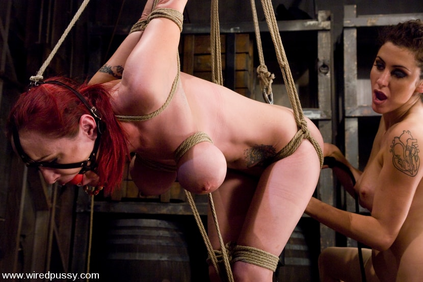 Kink 'Big Tits tied and Shocked' starring Mz Berlin (Photo 11)