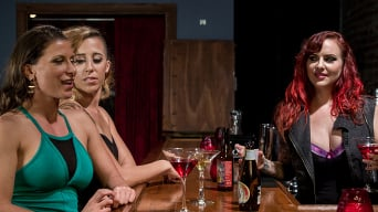 Mz Berlin in 'Out of Town Girl Tricked and Tortured by Pantyhose Tribbing Lesbians'