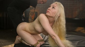 Natasha James in 'The Abduction of Natasha James: Petite Russian Blonde Bound and Fucked'