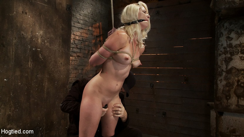 Kink 'Local amateur girl in her first hardcore bondage shoot Reverse Prayer, flogged her perfect ass.' starring Natasha Lyn (Photo 6)