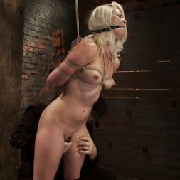 Natasha Lyn in 'Kink' Local amateur girl in her first hardcore bondage shoot Reverse Prayer, flogged her perfect ass. (Thumbnail 6)