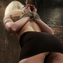 Natasha Lyn in 'Kink' Local amateur girl in her first hardcore bondage shoot Reverse Prayer, flogged her perfect ass. (Thumbnail 9)