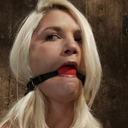 Natasha Lyn in 'Kink' Local amateur girl in her first hardcore bondage shoot Reverse Prayer, flogged her perfect ass. (Thumbnail 10)