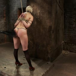 Natasha Lyn in 'Kink' Local amateur girl in her first hardcore bondage shoot Reverse Prayer, flogged her perfect ass. (Thumbnail 13)