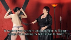 Nerine Mechanique - Sensual Flogging 101 - with Cleo Dubois (Thumb 06)
