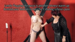 Nerine Mechanique - Sensual Flogging 101 - with Cleo Dubois (Thumb 10)