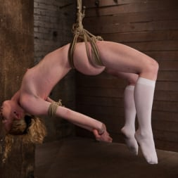 Nicki Blue in 'Kink' Sexy girl next door bound into a brutal back arch from hell. Made to cum like a common slut. (Thumbnail 1)