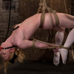 Nicki Blue in 'Kink' Sexy girl next door bound into a brutal back arch from hell. Made to cum like a common slut. (Thumbnail 3)