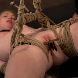 Nicki Blue in 'Kink' Sexy girl next door bound into a brutal back arch from hell. Made to cum like a common slut. (Thumbnail 4)