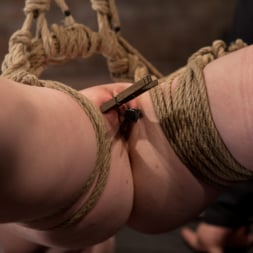 Nicki Blue in 'Kink' Sexy girl next door bound into a brutal back arch from hell. Made to cum like a common slut. (Thumbnail 6)