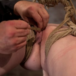 Nicki Blue in 'Kink' Sexy girl next door bound into a brutal back arch from hell. Made to cum like a common slut. (Thumbnail 12)