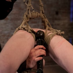 Nicki Blue in 'Kink' Sexy girl next door bound into a brutal back arch from hell. Made to cum like a common slut. (Thumbnail 14)