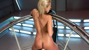 Nicole Graves in 'Perfect Blonde California Dream Barbie Machine Fucked'