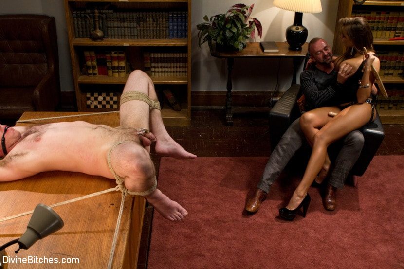 Kink 'Sadistic wife cuckolds husband with tantric sex specialist.' starring Nika Noire (Photo 5)