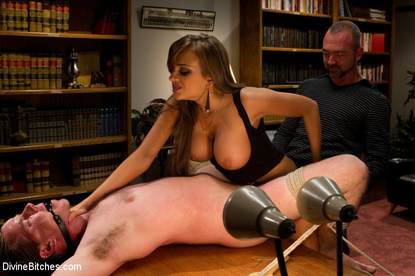 Kink 'Sadistic wife cuckolds husband with tantric sex specialist.' starring Nika Noire (Photo 6)