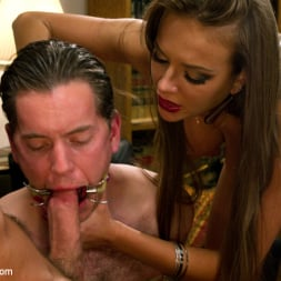 Nika Noire in 'Kink' Sadistic wife cuckolds husband with tantric sex specialist. (Thumbnail 7)
