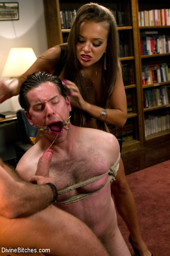 Kink 'Sadistic wife cuckolds husband with tantric sex specialist.' starring Nika Noire (Photo 8)