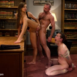 Nika Noire in 'Kink' Sadistic wife cuckolds husband with tantric sex specialist. (Thumbnail 9)
