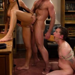 Nika Noire in 'Kink' Sadistic wife cuckolds husband with tantric sex specialist. (Thumbnail 10)