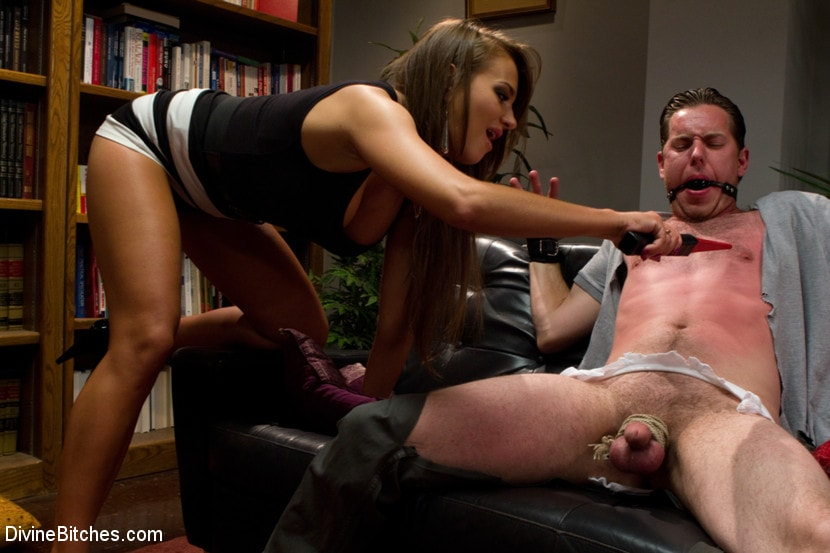 Kink 'Sadistic wife cuckolds husband with tantric sex specialist.' starring Nika Noire (Photo 19)