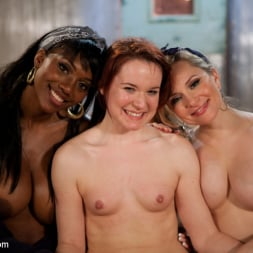 Nyomi Banxxx in 'Kink' Cute red head plucked off the street hung upside down and double penetrated! (Thumbnail 11)