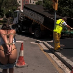 Oliver in 'Kink' Susana Abril Fully Nude in Central Square (Thumbnail 9)