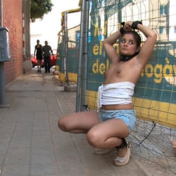 Oliver in 'Kink' Susana Abril Fully Nude in Central Square (Thumbnail 13)