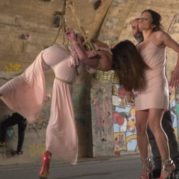 Valentina Bianco in 'Kink' Penelope and Valentina in a Greedy Group Fuck (Thumbnail 3)