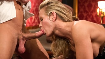 Penny Barber in 'Anal Slave Meets the Household, and a Gorgeous Guest is Ass Fucked'