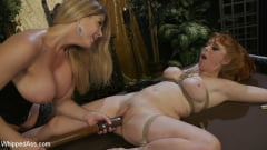 Penny Pax - Lesbian Femdom Role Switch Leaves Both Women Begging For More (Thumb 17)