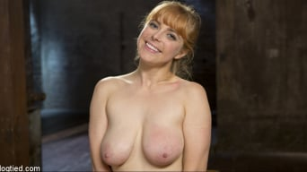 Penny Pax in 'Red Headed Rope Slut is Violated and Tormented'