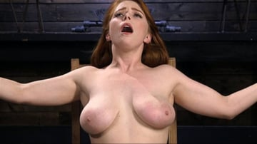 Penny Pax - Red Headed Slut is Bound, Tormented, Double Penetrated and Made to Cum