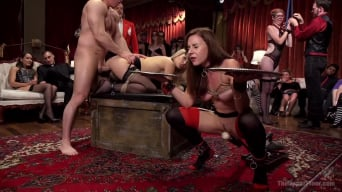 Penny Pax in 'Slutty Slave Anal Orgy'