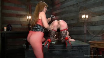Penny Pax में 'Young, Beautiful, Tight assed Charlotte Sartre takes it ALL'