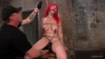 Proxy Paige in 'Voluptuous Sex Kitten in Brutal Bondage and Ass Fucked'
