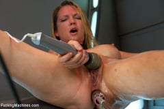 Rain DeGrey - Double Penetration Warm-up: Machine Fucking at 1 Million Percent (Thumb 03)